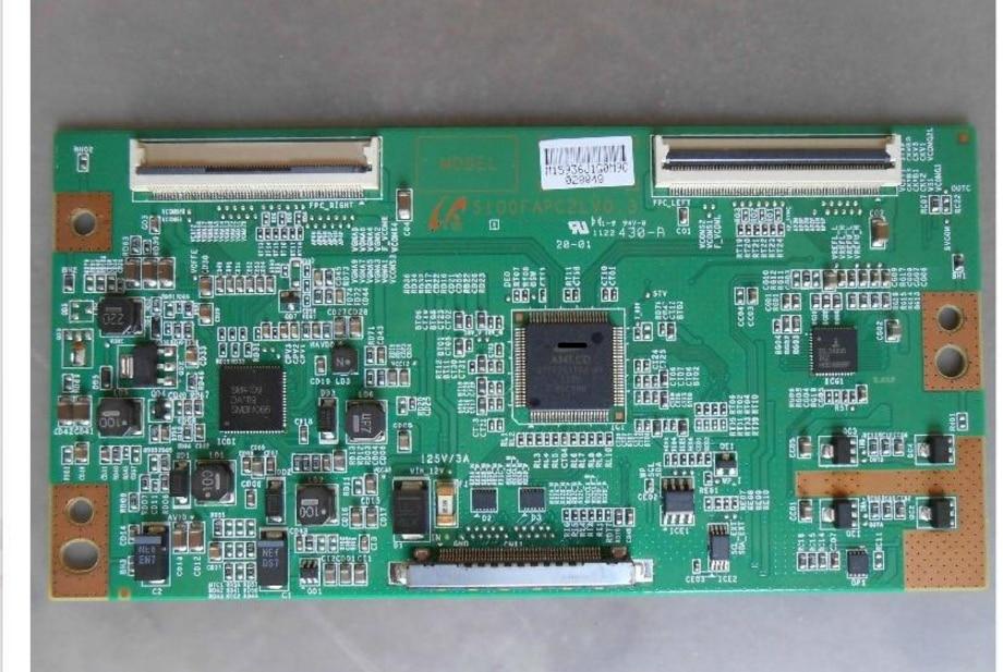 LCD Board S100FAPC2LV0.3 Logic Board For Connect With LTF460HN01 LTF400HM03 LTA460HM05/3    T-CON Connect Board