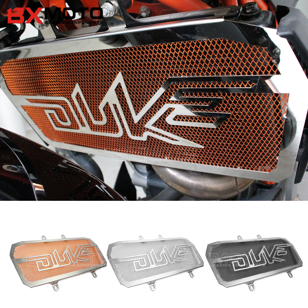 Motorcycle accessories Engine Radiator Bezel Grille Protector Grill Guard Cover For KTM Duke 390 Duke 125 200 Duke390 Duke125 for ktm logo 125 200 390 690 duke rc 200 390 motorcycle accessories cnc engine oil filter cover cap