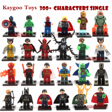 The  Marvel DC Super Heroes Single Sale Action figures  DIY Education Building Block Kids Toys New Kids Gift Toys