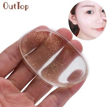 Hot Best Deal Beauty Girl Novelty Silicone Anti-Sponge Makeup Applicator Blender Perfect For Face Make Up F8X15