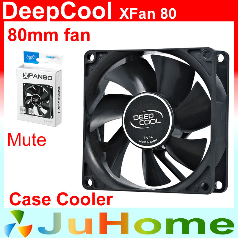 80mm, 8cm fan, 8025 Single fan, super Slient, for power supply, for computer Case cooler, DeepCool XFAN80 4pin pwm cooler fan 80mm 8cm fan case fan for power supply for computer case computer fan cooler foxconn 8025pwm