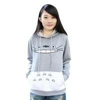 New Fashion Men Women Cartoon Totoro Hoodie Unisex Pullover Sweatshirt DM 6