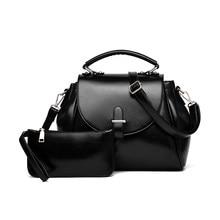 Composite Bag Fashion Bucket Bag Women Trendy Ladylike PU Leather font b Handbag b font Elegant