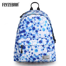 Recreational Fashion Male Backpack Girls Schoolbag Preppy Style Campus Backpack Large Capacity Geometric Printed Computer Bag campus backpack