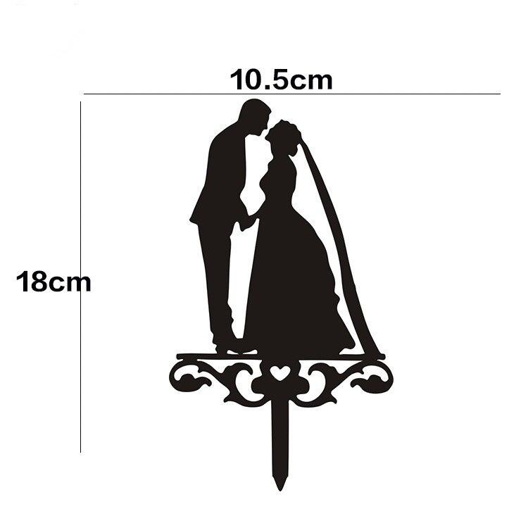1pc Acrylic Wedding Cake Bendera Bride Groom Kue Topper Hitam Putih Untuk Ulang Tahun Pernikahan Pesta Dekorasi Hot Sale Topper Cake Topper Cake Weddingtopper Wedding Aliexpress