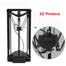 100-240V K800 track 3d printer DIY injection version of delta parallel arm  pulley version with warm bed power 360W 20-100mm/s