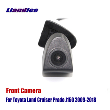 Liandlee AUTO CAM Car Front View Camera For Toyota Land Cruiser Prado J150 2009-2018 ( Not Reverse Rear Parking Camera ) liandlee car reverse camera for toyota land cruiser prado j150 rear view backup parking camera ccd hd integrated high quality