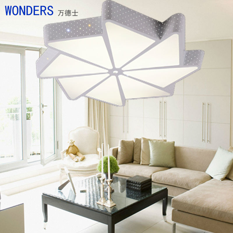 2016 creative design modern ceiling lights led for living room 220v ac bedroom lights 24 40w. Black Bedroom Furniture Sets. Home Design Ideas
