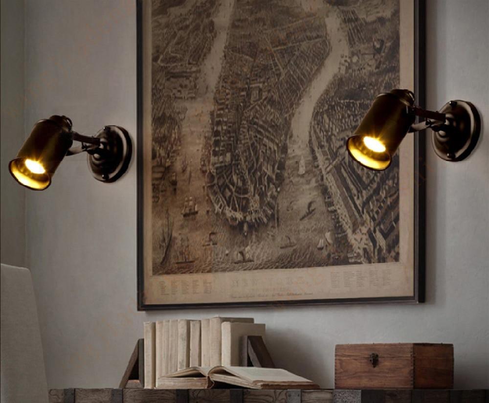 Industriale lampada da parete americano lampada da parete in ferro