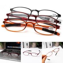 b58f7857f6 Unisexe Ultra-léger mode lunettes de lecture aînés Bifocal résine  Anti-dérapage lunettes presbyte Vision soin + 1.0 ~ + 4.0