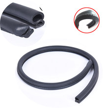 2pcs Car Door Seal B Pillar Sealing Rubber Strip Auto Protection Filler Anti-Noise Dustproof Sound Insulation(China)