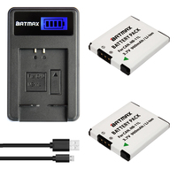 2Pcs 900mAh NB 11L NB11L NB 11L Camera Batteries LCD SUB Charger For Canon IXUS 125