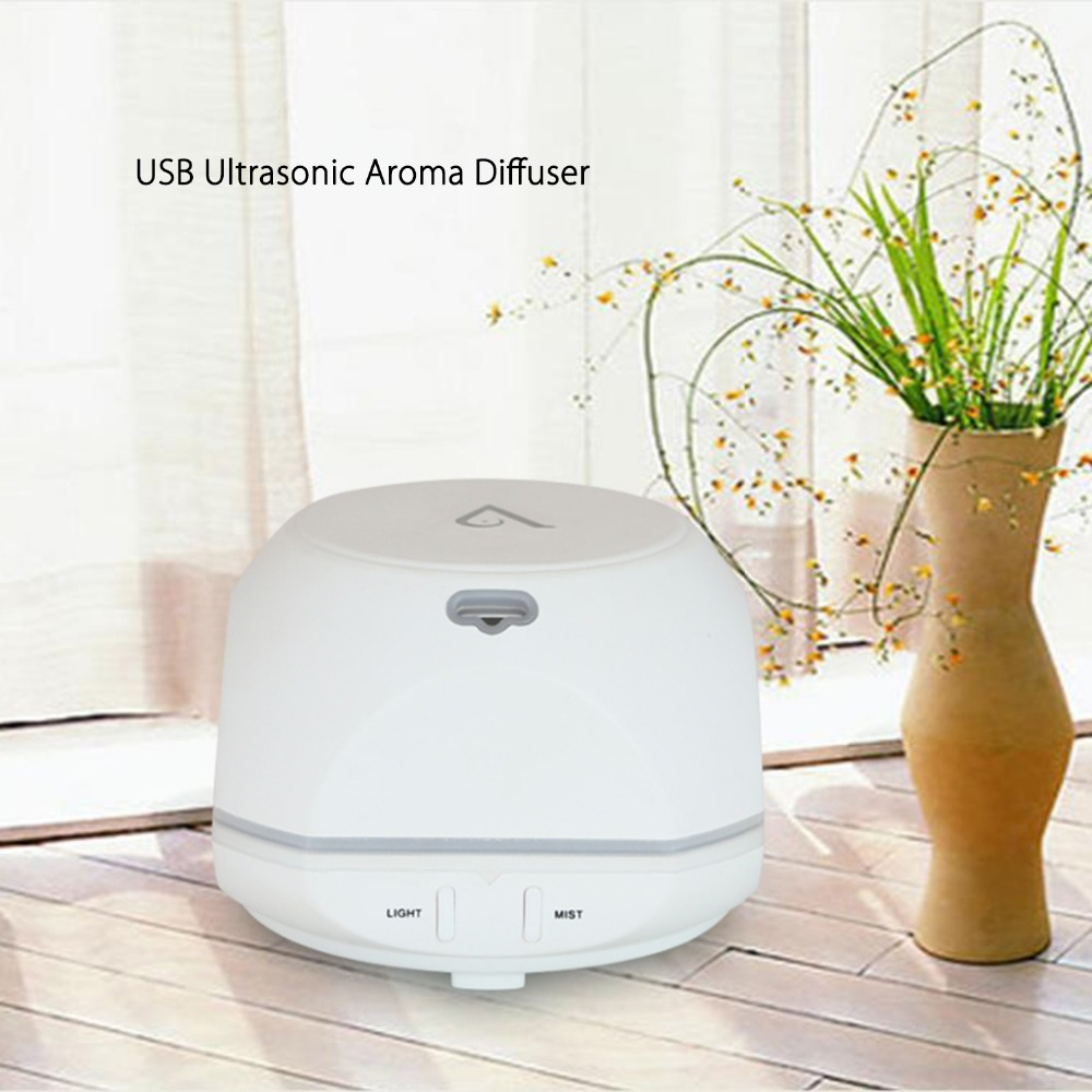 USB Aroma Essential Oil Diffuser Ultrasonic Cool Mist Humidifier Air - Perkakas rumah - Foto 2