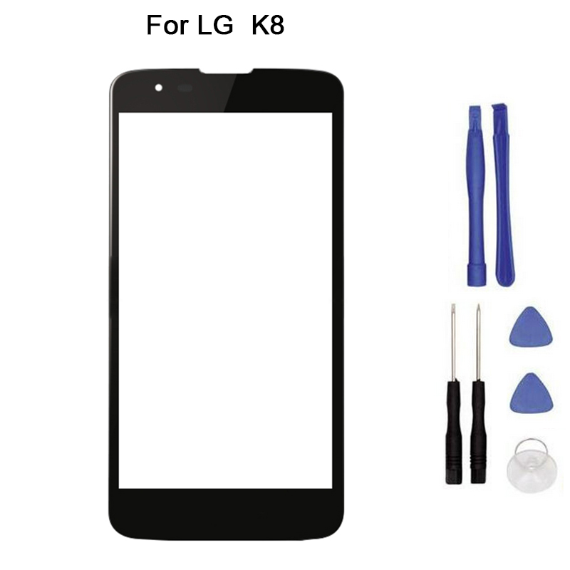 """New Touch screen For LG K8 2016 Phoenix 2 K350N K350 5.3"""" touch Screen Digitizer Front Glass Touch Panel Replacement tool"""