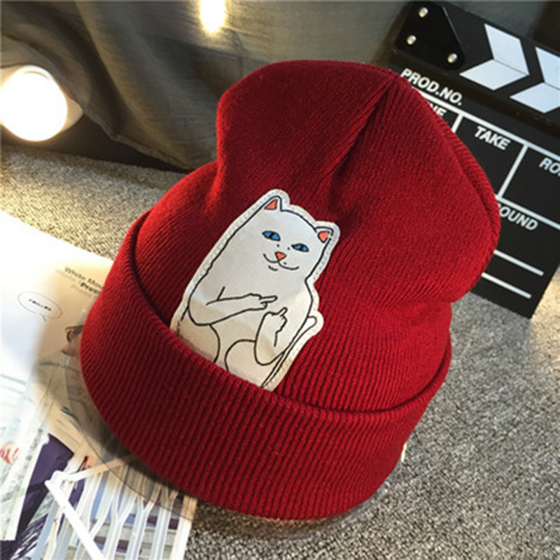 e2557aa4e33 top 8 most popular cartoon cat patch beanies ideas and get free ...