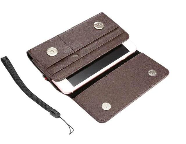 imágenes para Cinturón de Hombre Correa de Mano al aire libre Clip de Tarjeta de Bolsas de Caja Del Teléfono Móvil Para xiaomi redmi 3x, redmi 3 pro, meizu m3 m3s u10, zte blade l2 d6 v6