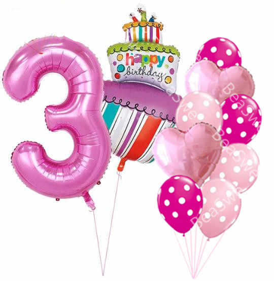 Admirable 40 Inch Pink Blue Number 1 2 3 4 5 Year Old Birthday Cake Balloons Personalised Birthday Cards Arneslily Jamesorg