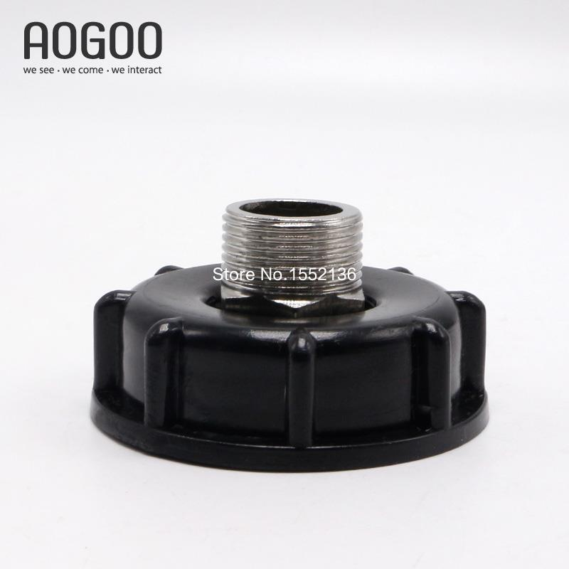 Ibc tank water container adapter mm to fine thread