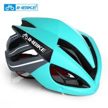INBIKE kask rowerowy rower kask magnetyczne gogle Mountain Road Bike kaski okulary rowerowe okulary 3 Lens kask rowerowy tanie tanio 16-20 Osoby dorosłe Mężczyzn W INBIKE Integralnie uformowany hełm MYSZ MX-9 289g 56-62cm Obwód głowy Niebieski czerwony zielony biały