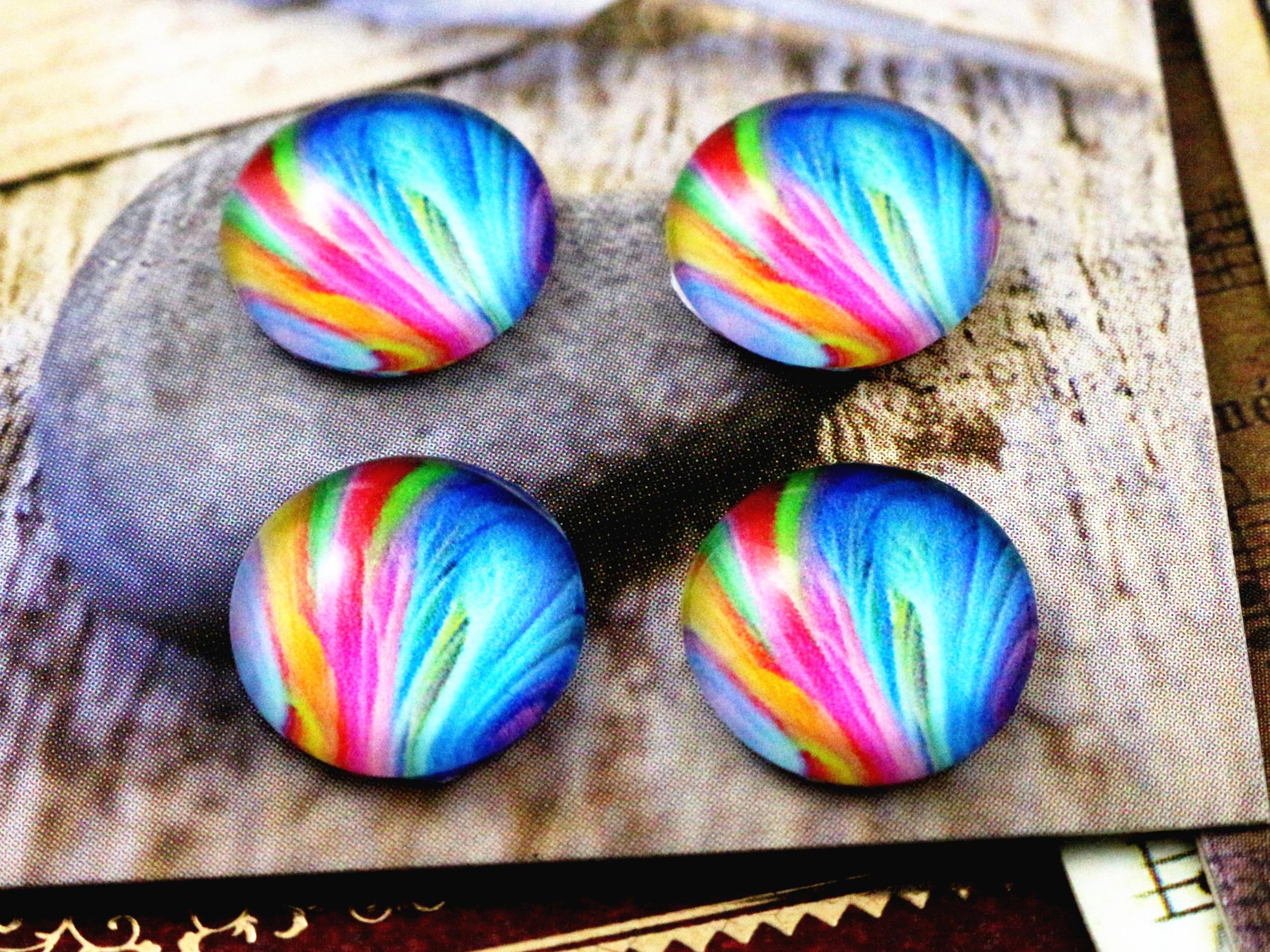 20pcs 12mm Handmade Photo Glass Cabochons   (C6-08)20pcs 12mm Handmade Photo Glass Cabochons   (C6-08)