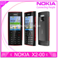 Restaurado original x2 nokia x2-00 bluetooth fm java 5mp abrió el teléfono móvil del envío gratis