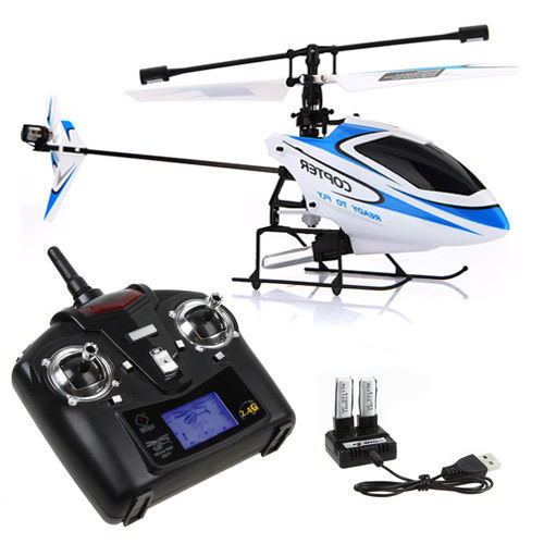 Original WLtoys V911 RC Helicopter 2.4G 4CH Drone Toy Remote Control Drones Flying Toy Helicoptero Aircraft Kid Drone image