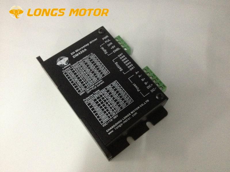 EU Free shipping Stepper Motor Driver DM420A 12 36V 128micstepsfor Nema17 Stepper Motor 3D Printer
