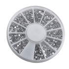 3d Nail Art Decorations Acrylic Diamond Shapes Rhinestones To Nails Art Accessories approx 1200-1500pcs/wheel, free shipping