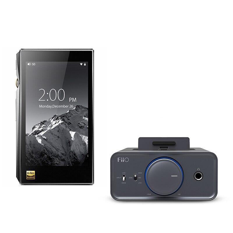 Paquete de venta de FiiO portátil Hi-Res reproductor de música X5 MKIII con amplificador de auriculares K5