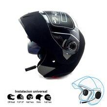 NEW Motorcycle bluetooth helmets Flip up JIEKAI double visor helmets