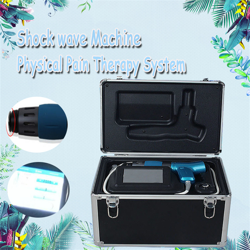 Shock Wave Machine Shockwave Therapy ED Treatment Pain Free Home Salon Use Beauty Machine Radial Waves And Vibration Pulses