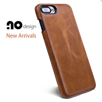 Classic Genuine Leather Full Screen Protective Flip Case Cover For IPhone 74 7 7Plus5 5 Genuine