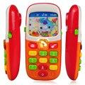 Elephone Móvel Telefone de Brinquedo eletrônico Para Crianças Bebê Brinquedos de Aprendizagem Educacional Máquina de Música Brinquedo Para Crianças (Cor Aleatória)