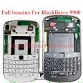 Оригинальный Корпус Для Blackberry 9900 Полный Крышку Корпуса крышка Батарейного Отсека Клавиатуры Ближний Рама Задняя Крышка в Комплекте