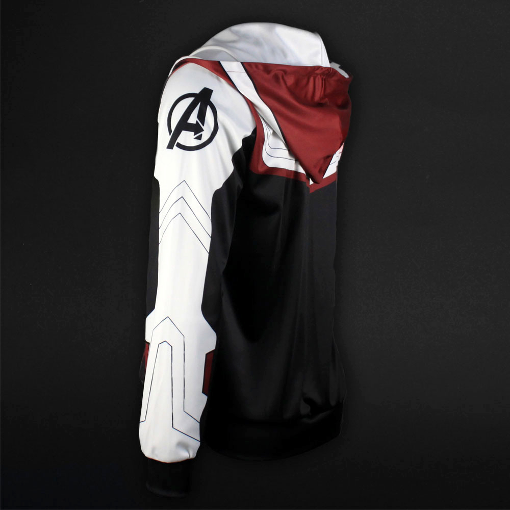 Men Women Avengers Endgame Realm Cosplay Hoodies 3D Pullover Sweatshirt Quantum Realm Superhero Zipper Jacket Costumes7