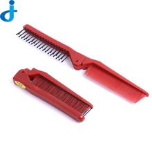 1PC Folding Comb Practice Training Style Knife Combs Anti-Static DIY Salon Hairdressing Styling Tool For Beauty Escova De SC155