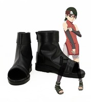NARUTO Uchiha Sarada cosplay Shoes Boots Custom Made
