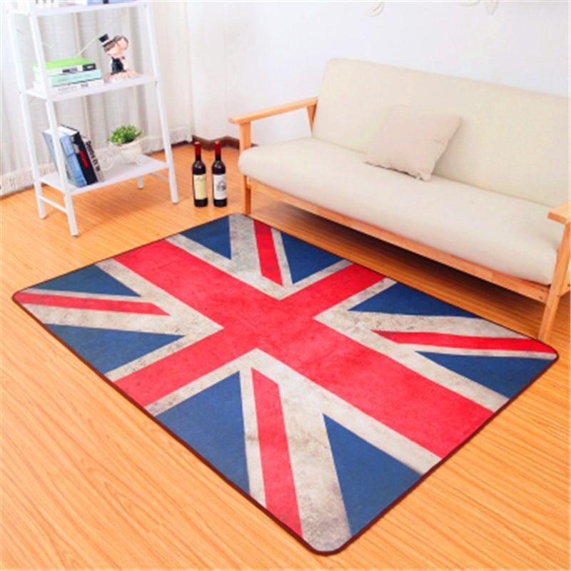 1Pcs Fashion Absorbent Non-slip Restoring ancient ways rectangle carpet creative Living room sofa tea table bedroom floor MATS