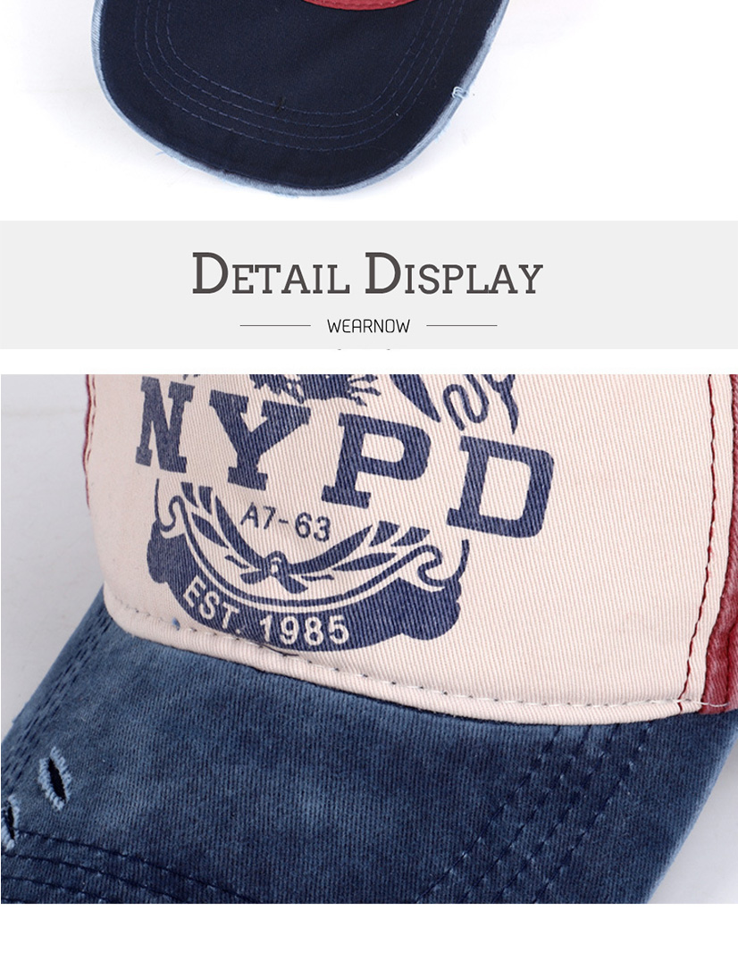 棒球帽子_做旧水洗牛仔棒球帽子男女街头字母nypd弯檐嘻哈鸭舌---阿里巴巴_05