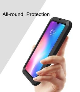 Image 2 - Funda para Xiaomi Mi9 Explorer LOVE MEI, carcasa armadura de Metal resistente a prueba de agua funda de teléfono para Xiaomi Mi 9 DE 6,39 pulgadas