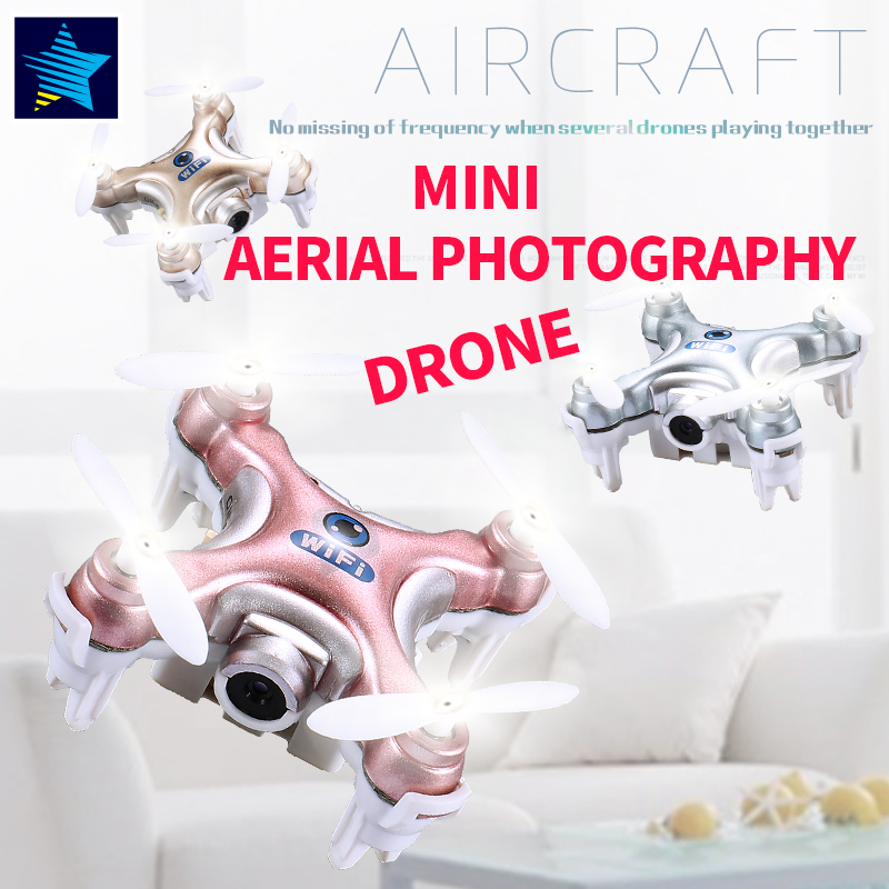 Buy Online New Bricks CX-10W RC WIFI Camera 3D Flip 4CH CX10 Update Version  Mini Drone Hobby Mobile Control Helicopter Toys lepin 56 - RC Airplanes  Focus