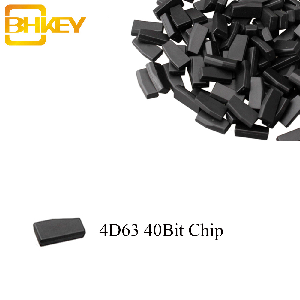 BHKEY Transponder-Chip 40bit-Chip Auto-Remote-Car-Key-Chips 4D63 Mazda For Ford ID