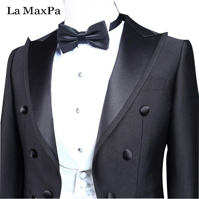 THE Maxpa (veste + pantalon + gilet) nouveaux hommes costume smoking costume  de mariage 4e8e888f2a1