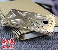 Zimon Original Phone case For Xiaomi Redmi Note 3 Metal Aluminum Punk Ironman Armor Heavy Duty Protection Mobile phone case