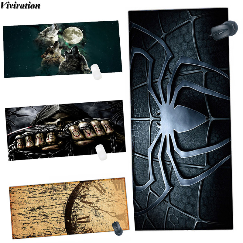 Viviration Soft Gaming Mouse Pad Mat High Quality Printing Keyboard Table Pad Mat 2018 New Arrival Brand New Laptop Mouse Pad