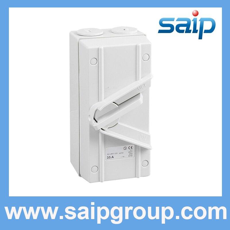 Requintado Uso Industrial Interruptor de Isolamento Elétrico (SP-335) IP66/Em Conformidade Com As Normas Internacionais