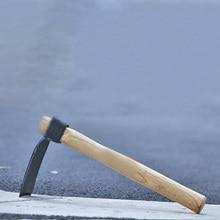 1 шт. мотыга с деревянной ручкой портативный садовый ручной инструмент сталь Садоводство высадка экскаватор земледелие