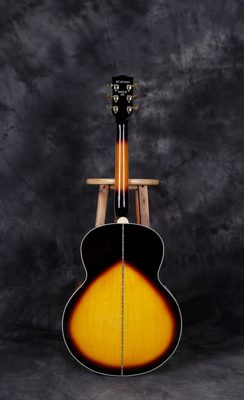 Sunburst Acoustic guitar,Matte 42 Inch Type A Folk Guitar,Acoustic Guitar Sound Full 42 Inches,Engleman Spruce Veneer Guitar