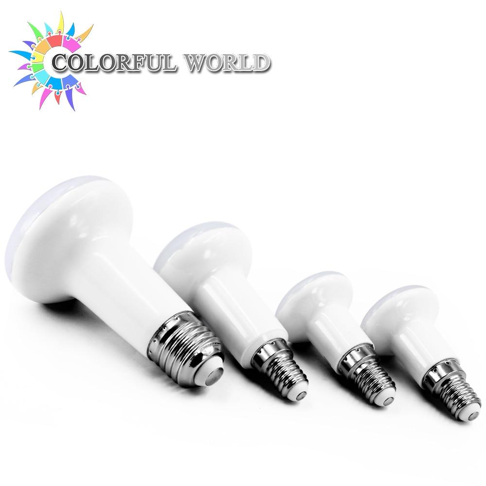 4PCS E14 E27 R39 R50 R63 LED lamp Base LED BULB 4W 6W 9W 12W led umbrella bulb light Warm Cold white led light AC220V 230V 240V 5pcs e27 led bulb 2w 4w 6w vintage cold white warm white edison lamp g45 led filament decorative bulb ac 220v 240v