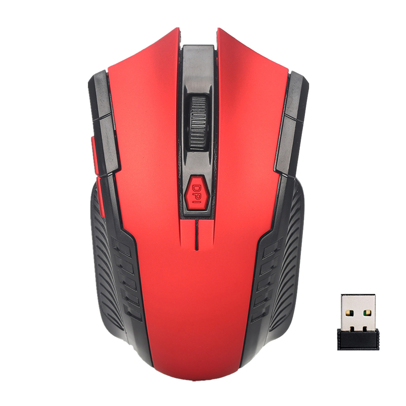 Ergonomic Mice Professional Optical Computer 2.4GHz Wireless Gaming Mouse Notebook Mini Mice USB